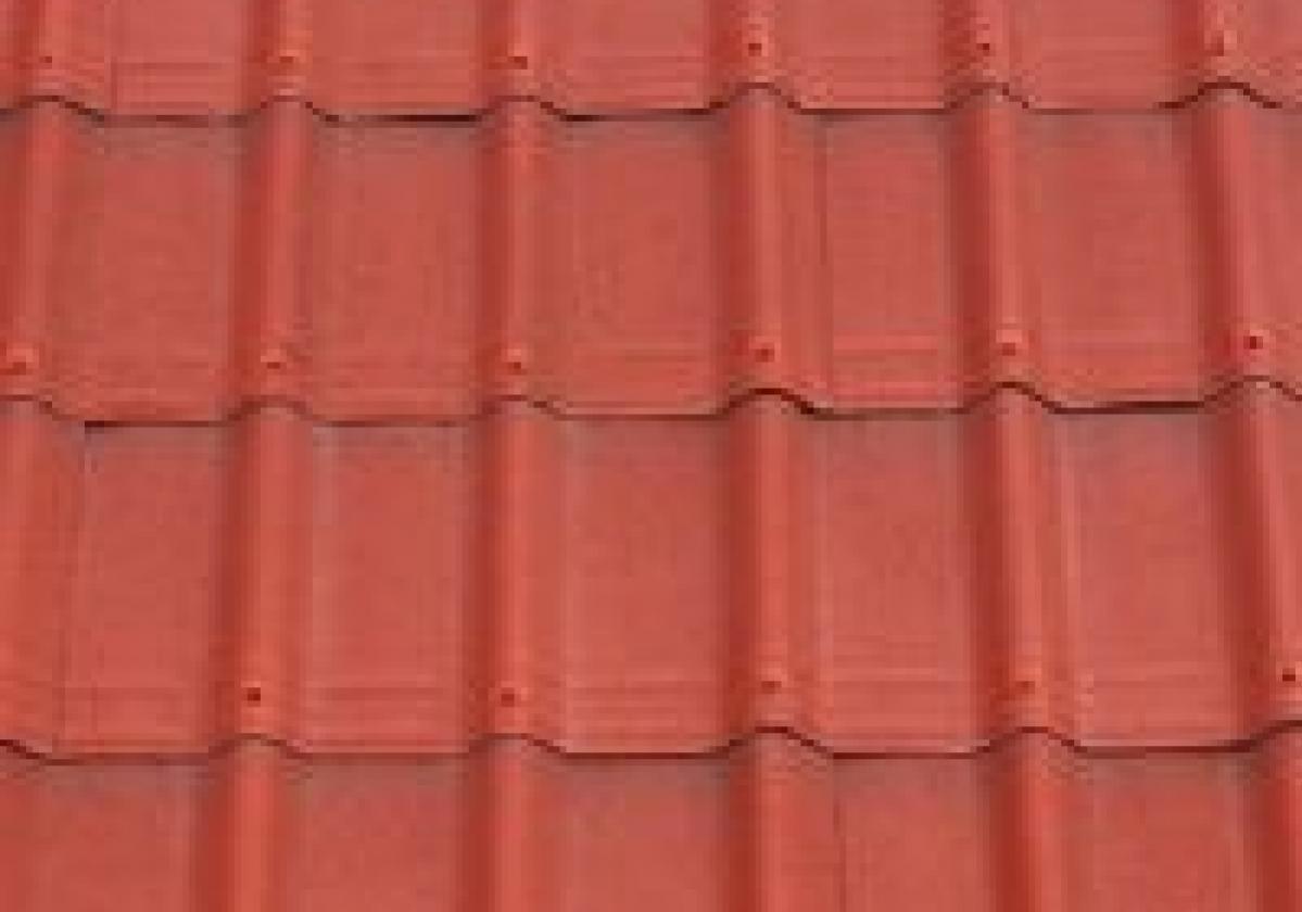 Вълнообразната керемида ONDUVILLA® І Червено класик 3D