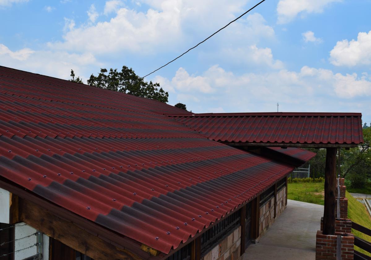 ONDULINE TILE® - вълнообразен покривен лист