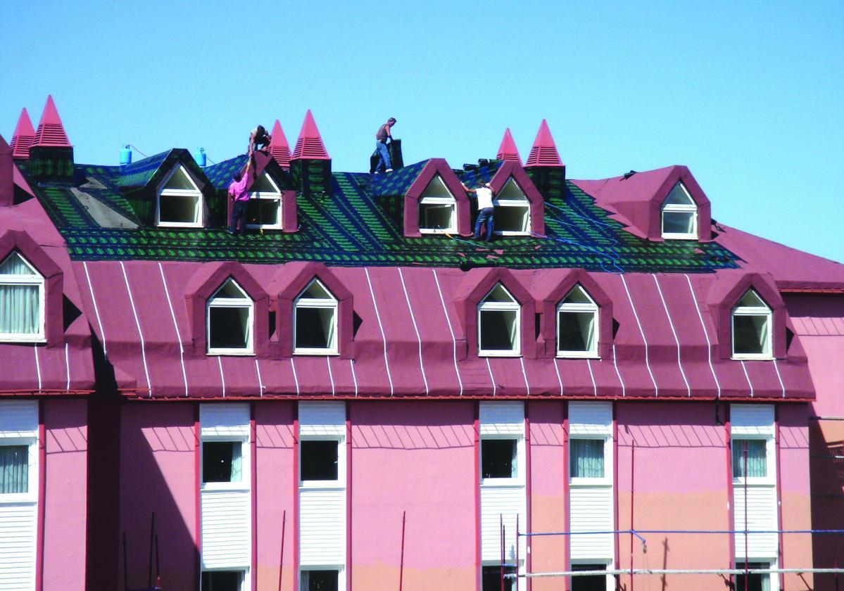 BITULINE® - хидроизолация на скатни покриви