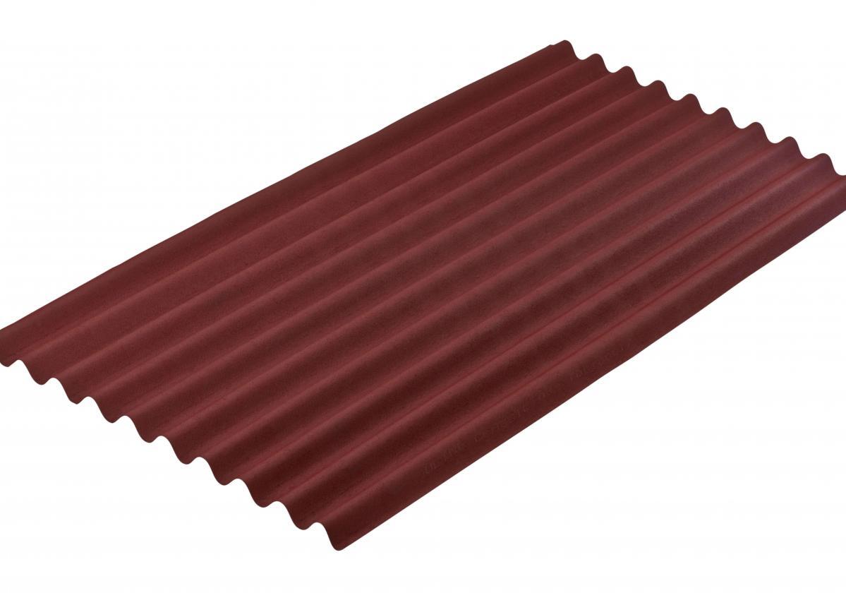 ONDULINE® КЛАСИК - червен І Вълнообразен покривен лист