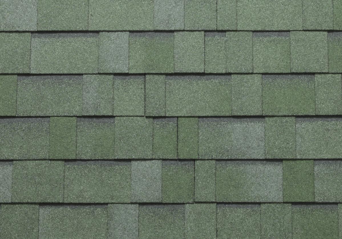 Битумни керемиди BARDOLINE® ПРО S125 ОПЕРА - каменно зелен