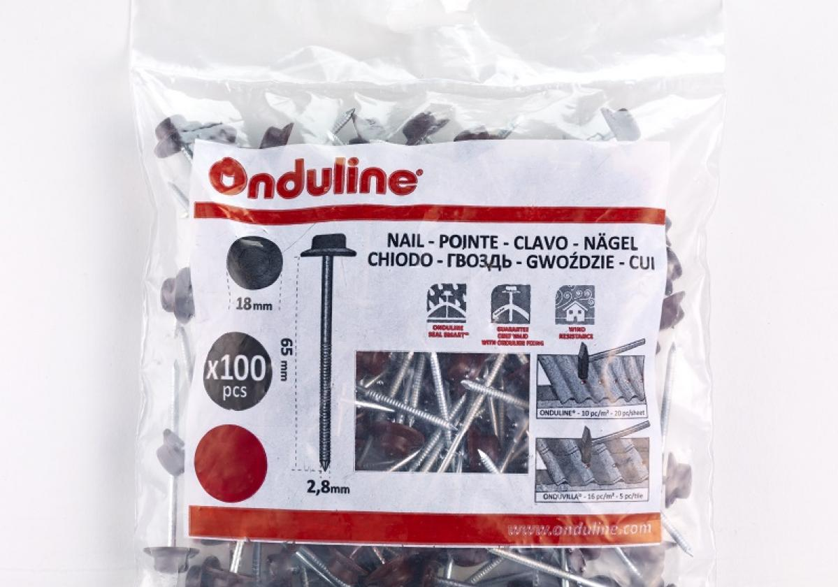 ONDULINE® самопробивни гвоздеи І Пакет х 100 бр.
