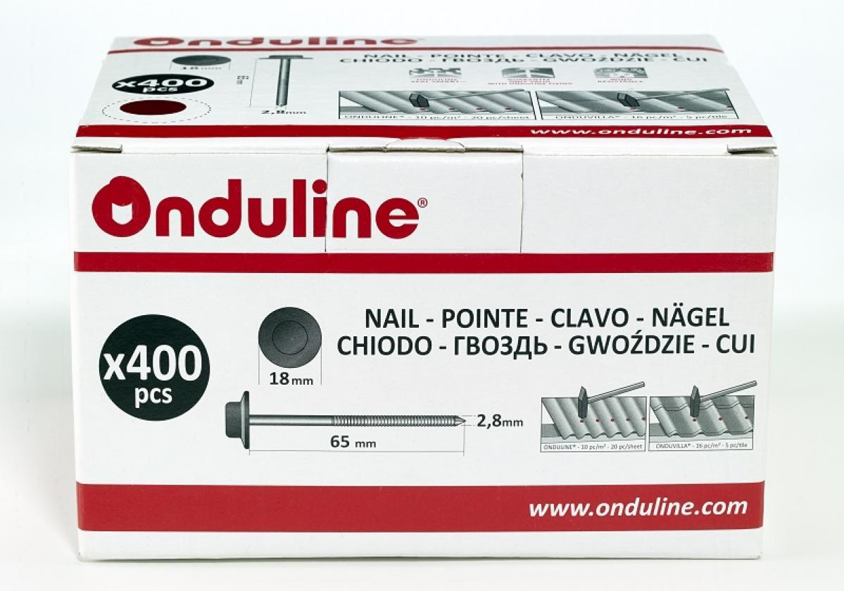ONDULINE® самопробивни гвоздеи І Кутия х 100 бр.