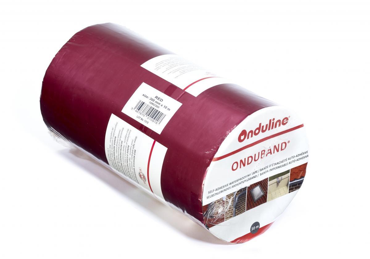 Самозалепващи битумни ленти ONDUBAND® - червен