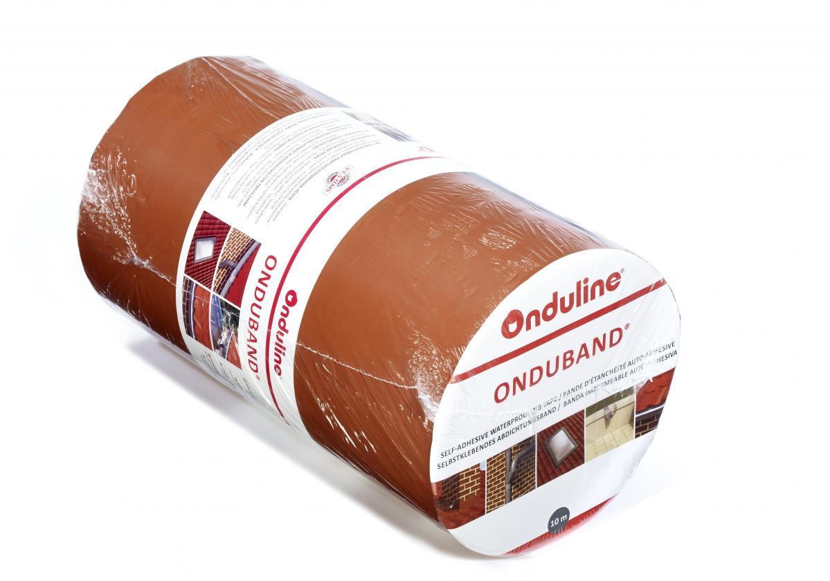 Самозалепващи битумни ленти ONDUBAND® - теракота