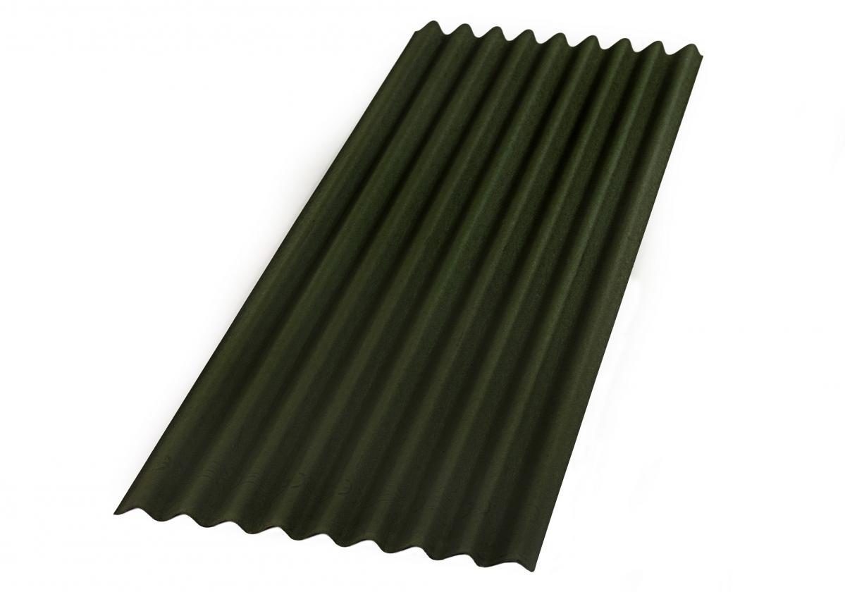ONDULINE® БЕЙС -  зелен І Вълнообразен покривен лист