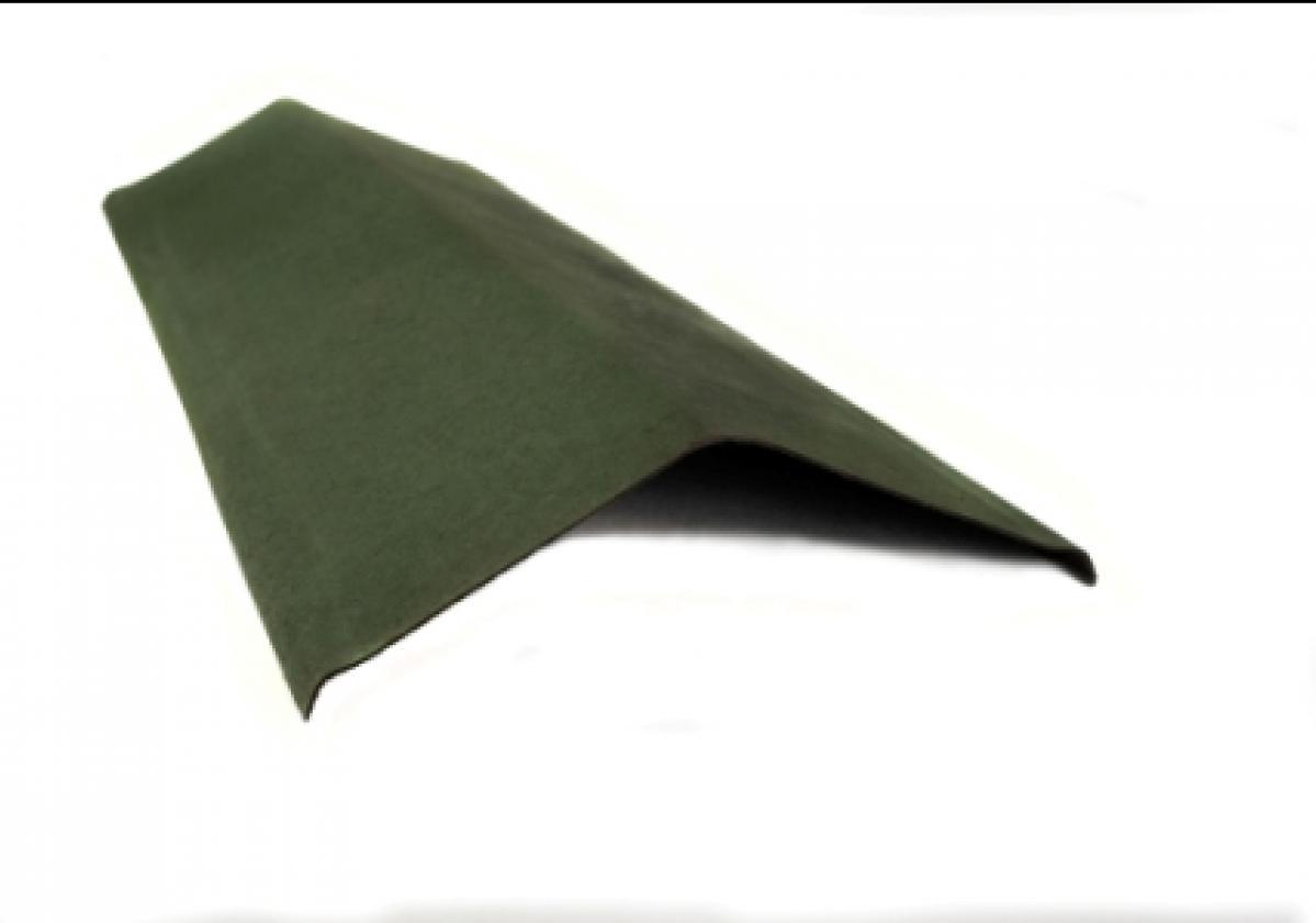 ONDULINE® елемент страничен ръб за покриви І Зелен